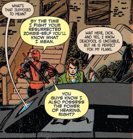 The greatest power of Deadpool