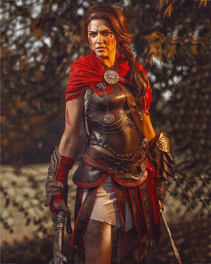 Kassandra Cosplay Assassin S Creed Odyssey 9gag