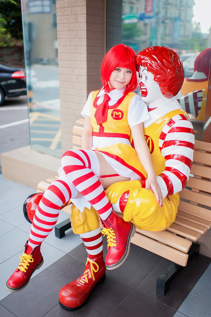 With you Nude female ronald mcdonald