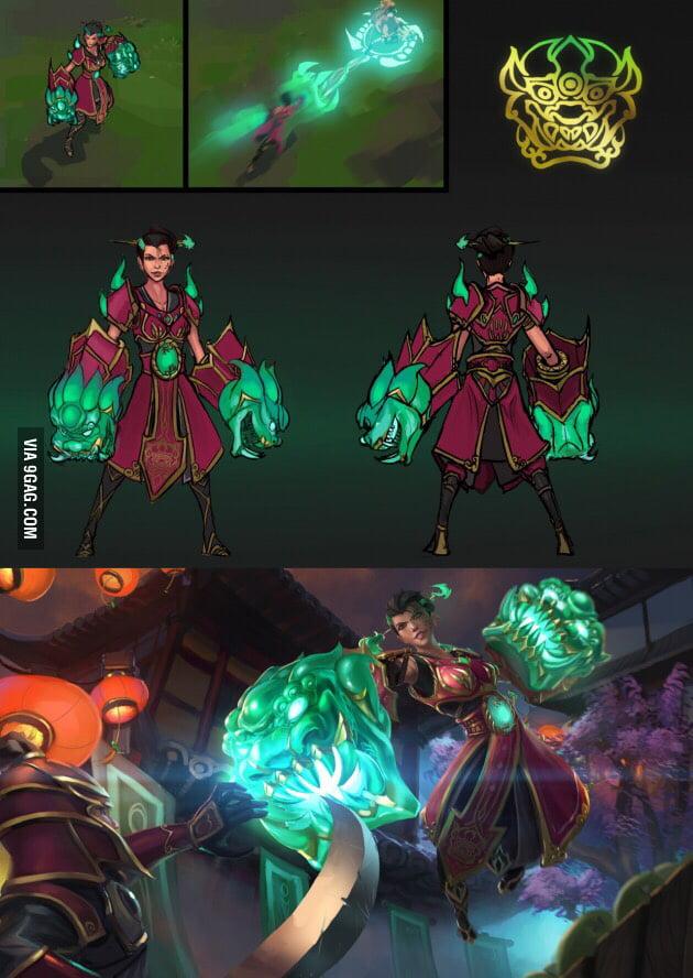 jade dragon shyvana vi