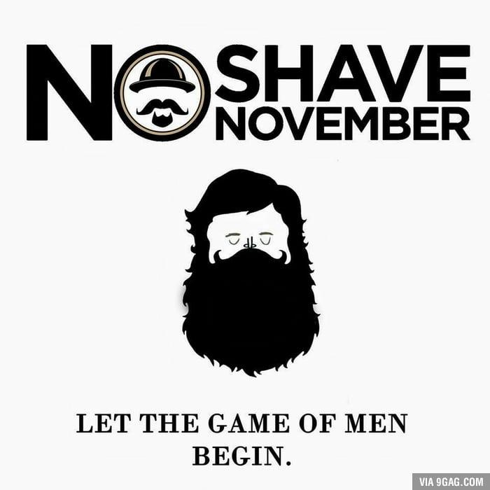 Resultado de imagen para no shave november