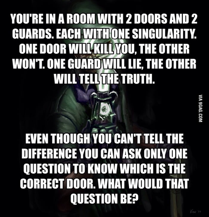 One of the hardest riddles ever  - 9GAG