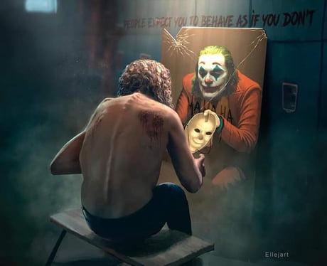 The Joker 2019 Artwork By Ellejart 9gag