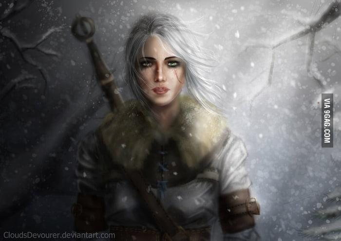 Witcher nude fanart