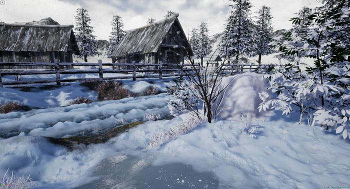 Unreal Engine Snow
