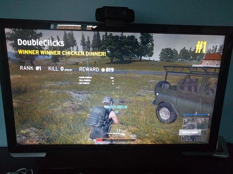 1st place, no kills.