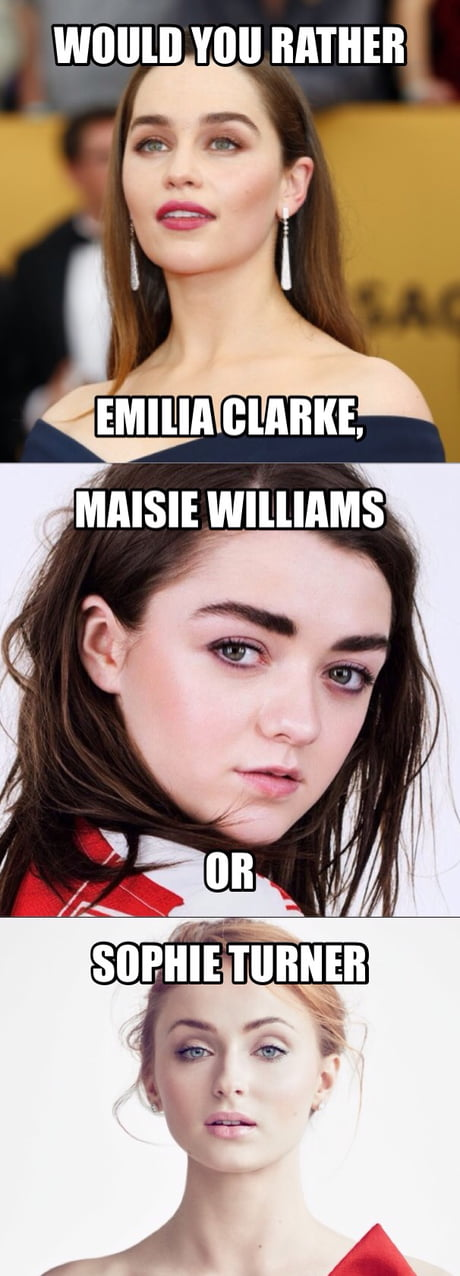 📌Who would you rather of the GOT main women