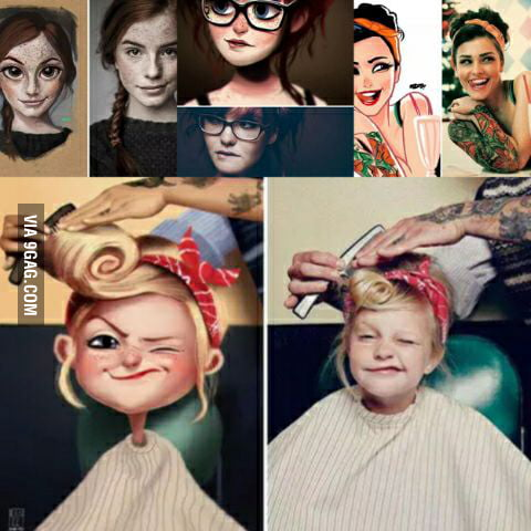 He Make Real Life Pictures Into Cartoon 9gag