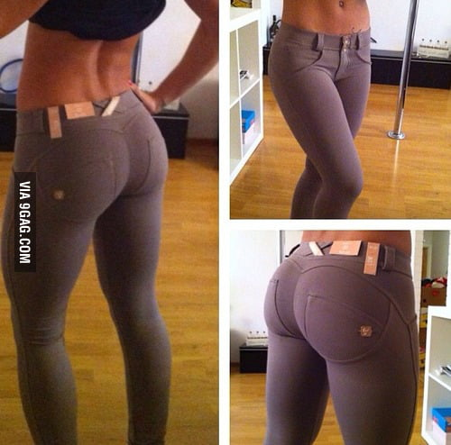 Not Sure If These Are Yoga Pants Or Jeans But I Don't Care