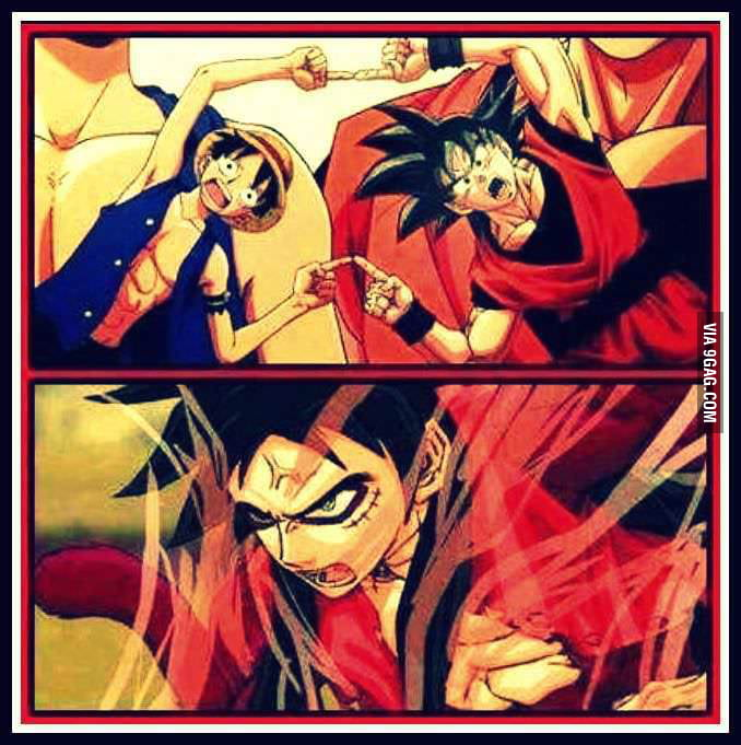 Love Luffy And Goku ? Why Not Both, FUSION ! ! !