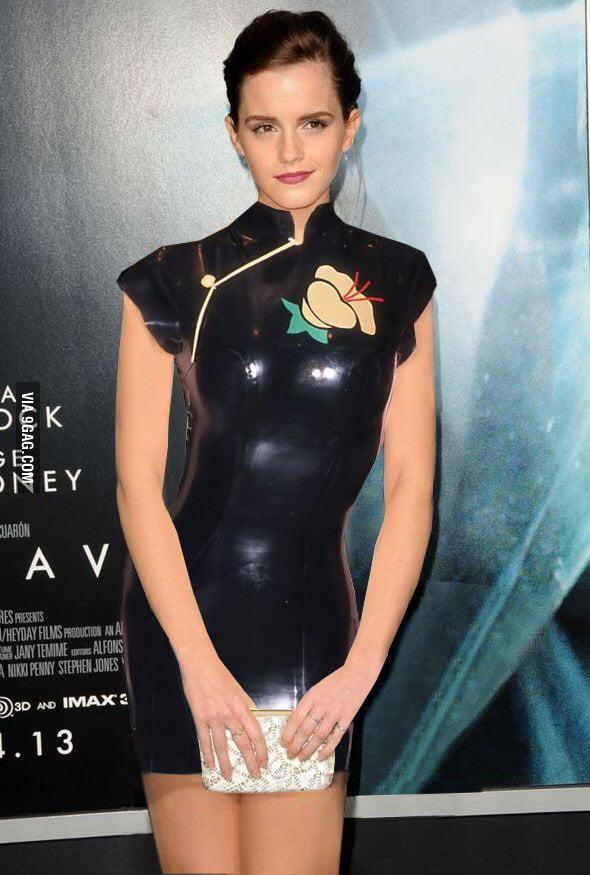 Latex emma watson Emma Watson's