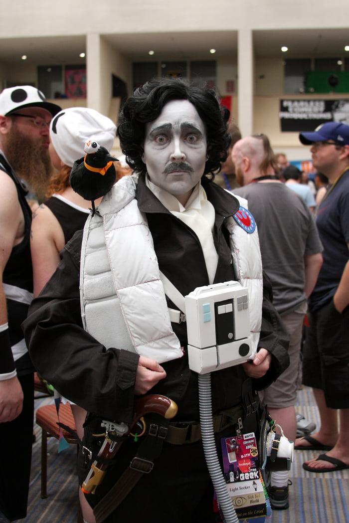 Amazing Star Wars mashup: Edgar Allan Poe Dameron! (Beth Grimes