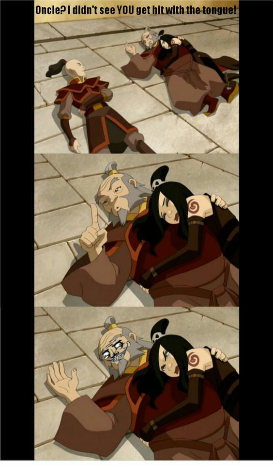 That's why Iroh is my favorite