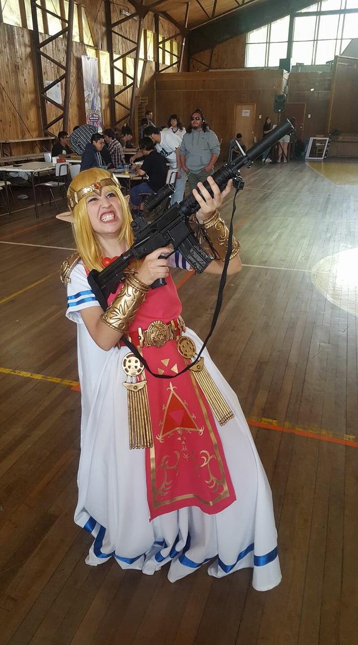 New Victory Pose of Princess Zelda in Super Smash Bros Ultimate! - 9GAG