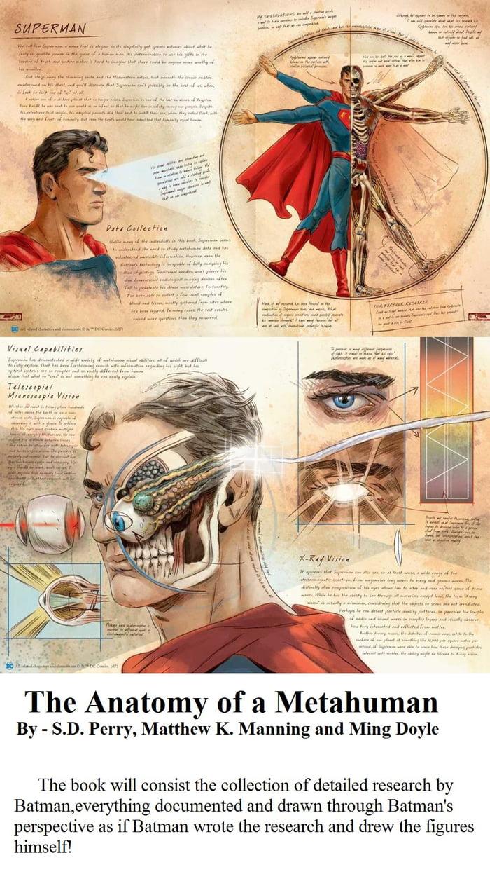 The Anatomy of a Metahuman - 9GAG