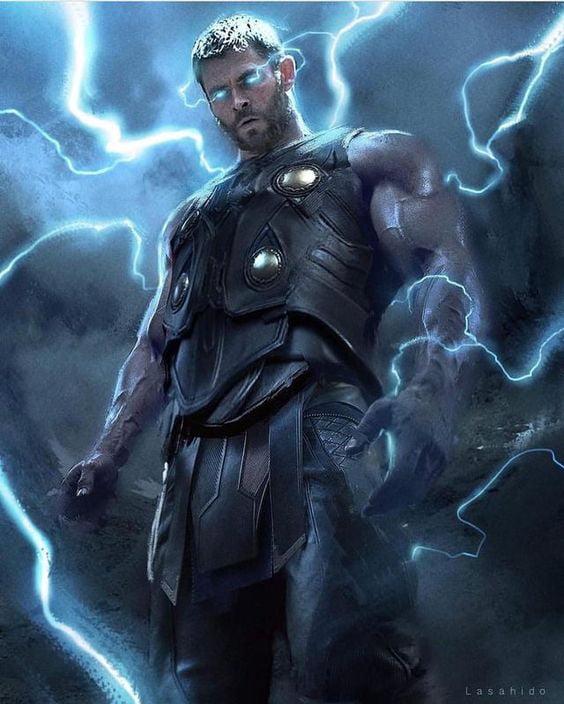 Thor Ragnarok Lightning Eyes