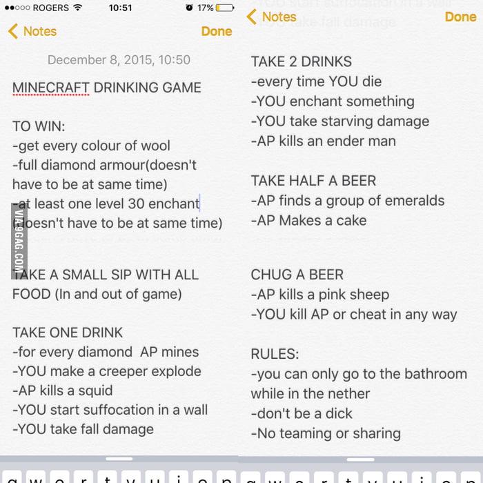 overwatch drinking game
