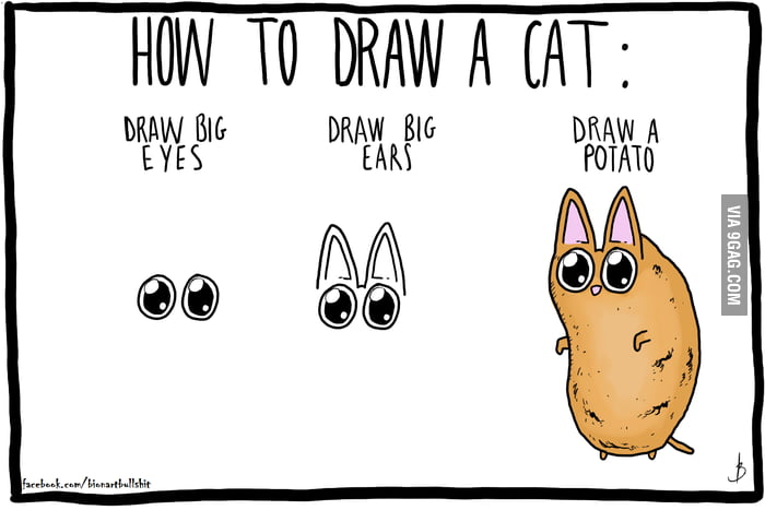 how to draw a cat on gimp