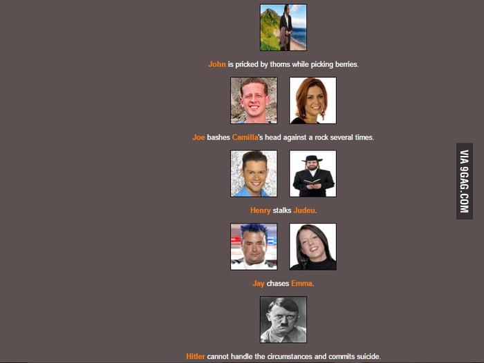 Making random stuff at the Hunger Games Simulator when   - 9GAG