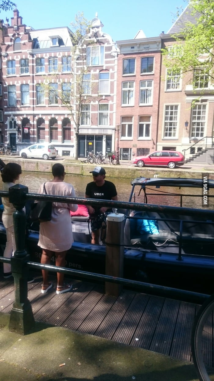 In Amsterdam there is an UBER boats - 9GAG