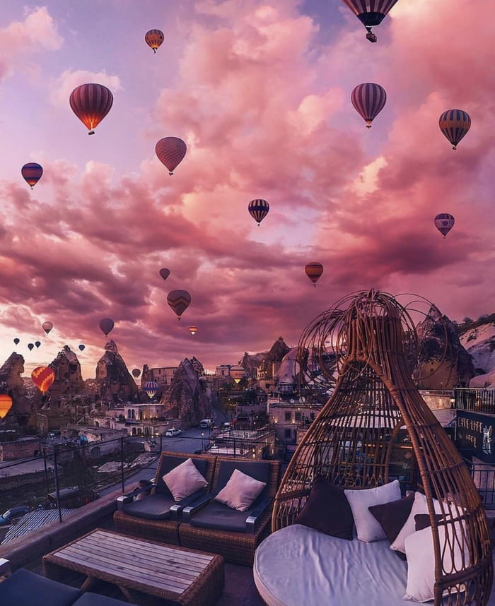 People Go To Cappadocia Turkey Specifically For Hot Air Balloon Tours 9gag