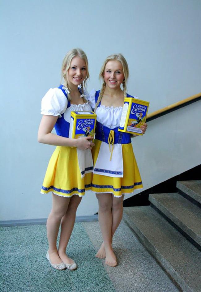 Girls finnland Meet Finnish