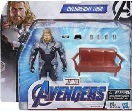 Image result for overweight thor