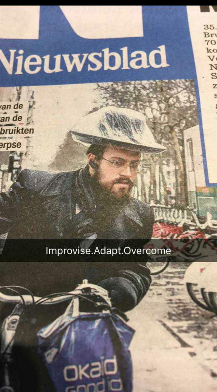 c0527fad215 Improvise Adapt Overcome - 9GAG