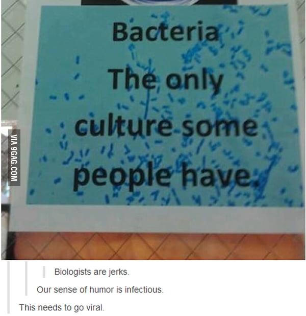 Damn Biologists...
