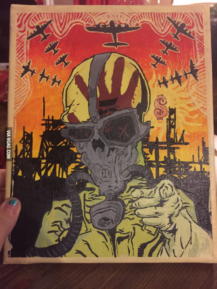 Any Fans Of Five Finger Death Punch On Here 9gag
