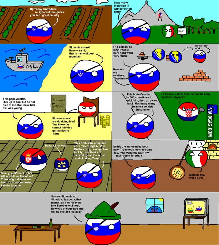 Slovenia is not Slovakia