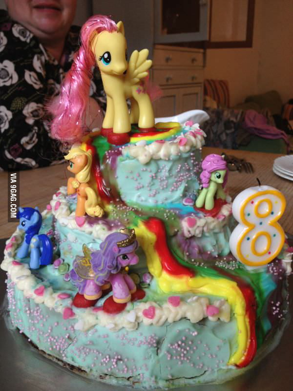 My Cousin And Me Made A Birthday Cake For My Little Sister I Think