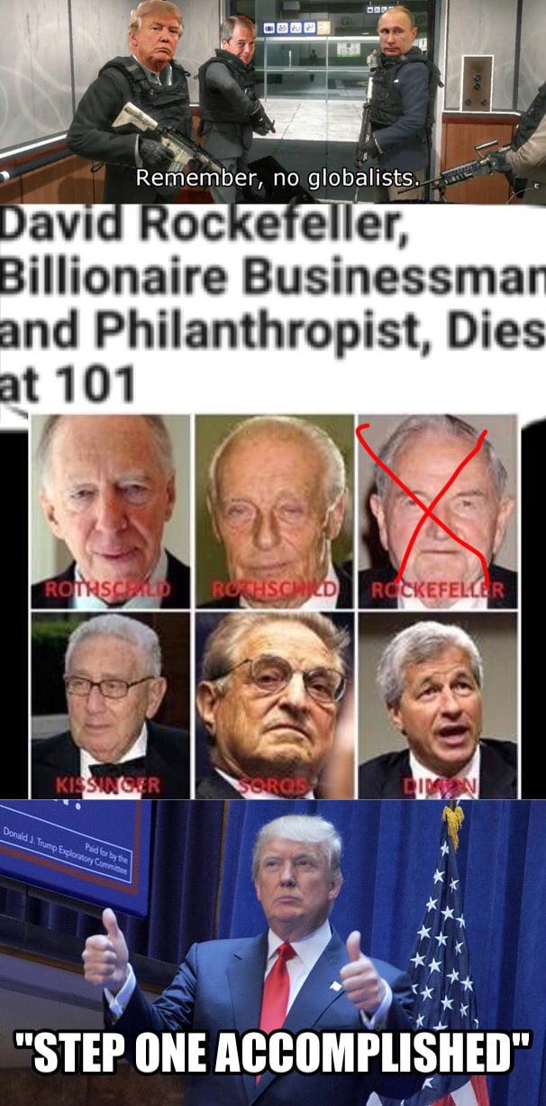 Rockefeller is dead