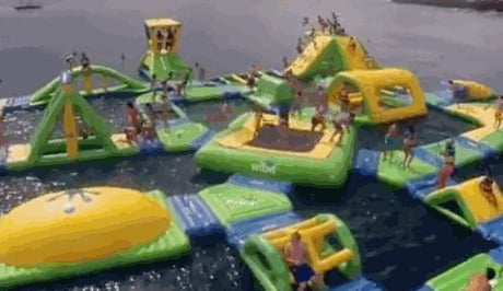 Every Child's Dream - Inflatable Playground