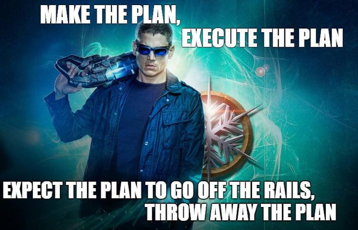 Captain Cold Leonard Snart Any Flash Fans 9gag