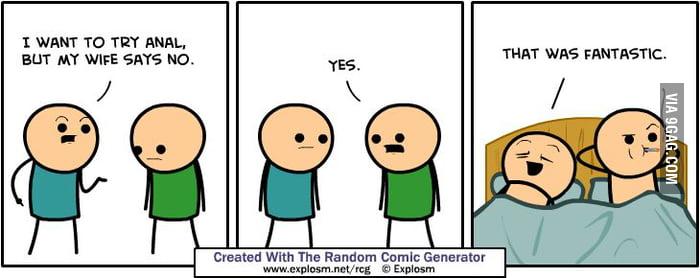 I tried random meme generator once. - 9GAG