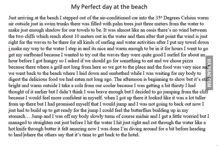 correct my essay please correct my essay