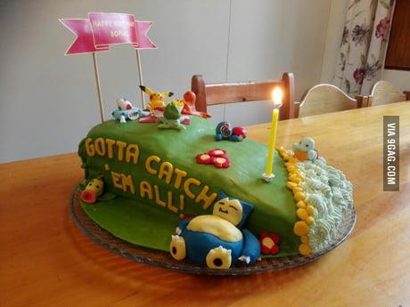 Astounding My Birthday Cake I Am 21 Years Old Girl Yes I Liked Pokemon Funny Birthday Cards Online Barepcheapnameinfo