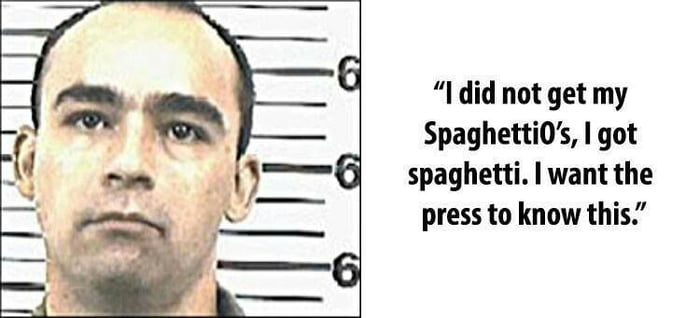 Boo-Hoo! Death Row Inmate Thomas Grasso Last Words - 9GAG
