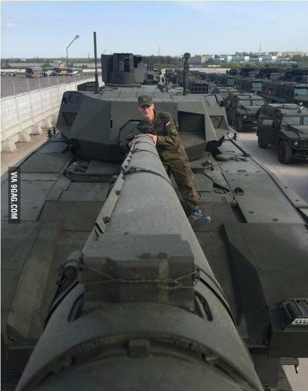 Russian selfie-stick