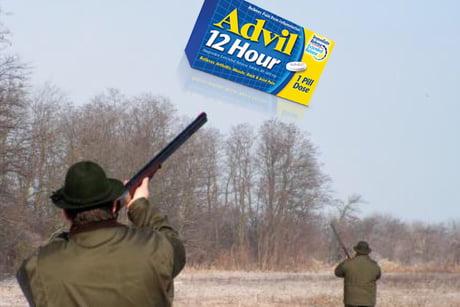 Advil Hunting - 9GAG
