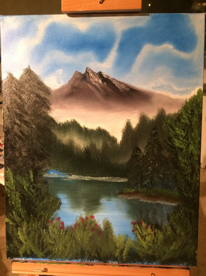 I tried this bob ross painting tutorials people here talk about i tried this bob ross painting tutorials people here talk about how did i do voltagebd Choice Image