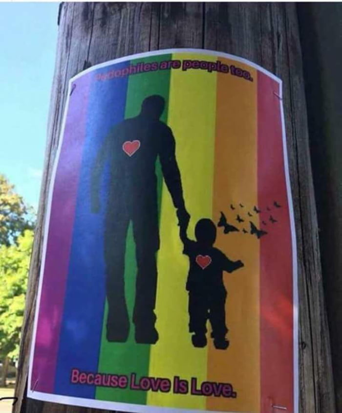 """And so it begins    """"Pedophiles are people too, because love"""