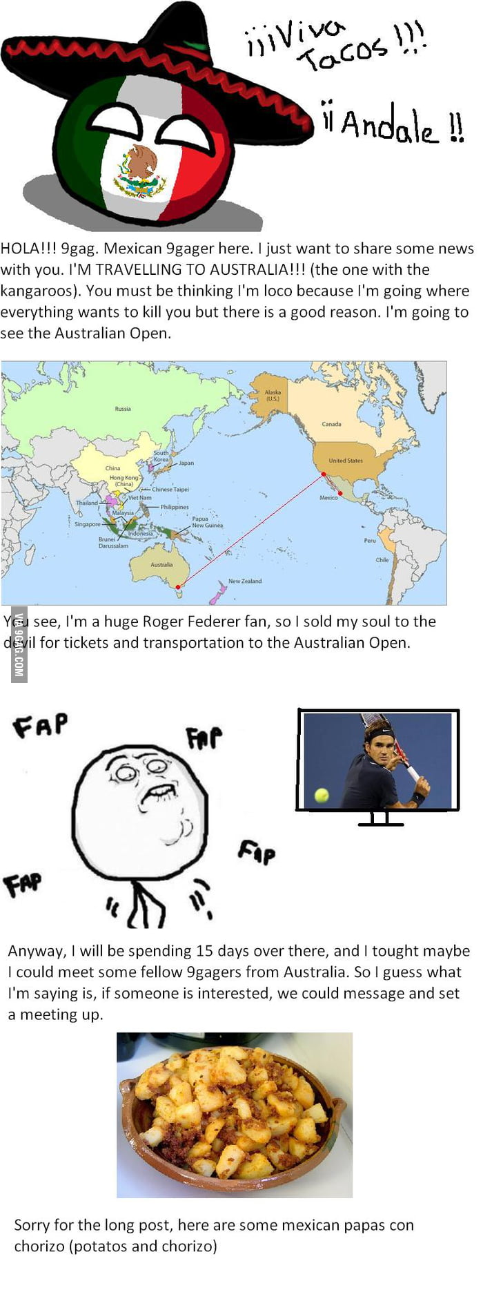 Hello Fellow 9gagers Greetings From Mexico 9gag