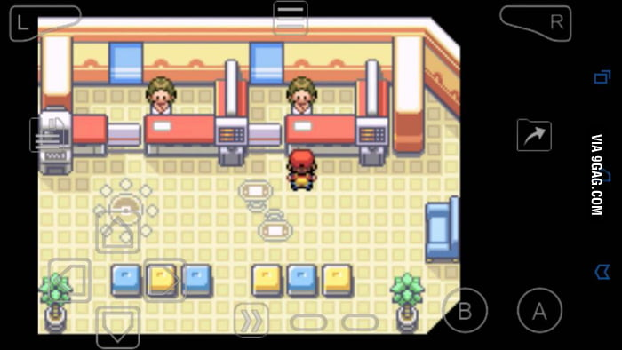 God bless emulators*_* where u can trade pokemon with yourself :) - 9GAG