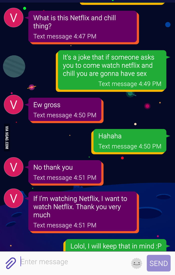 My gf is a little behind on the meaning    - 9GAG