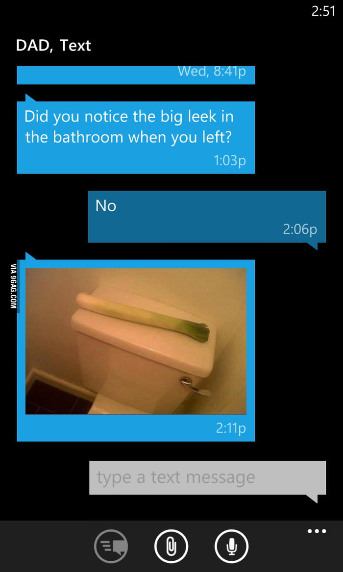 Pretty sure this epitomizes what a dad joke is