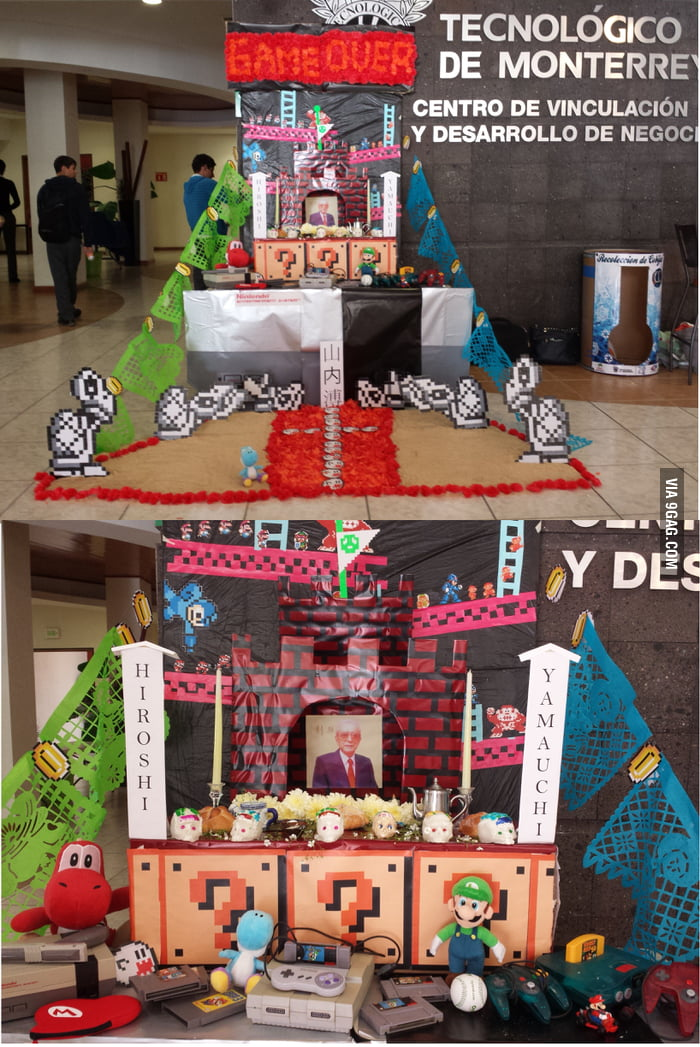 Hiroshi Yamauchi´s Altar de Muertos by IT students from Mexico