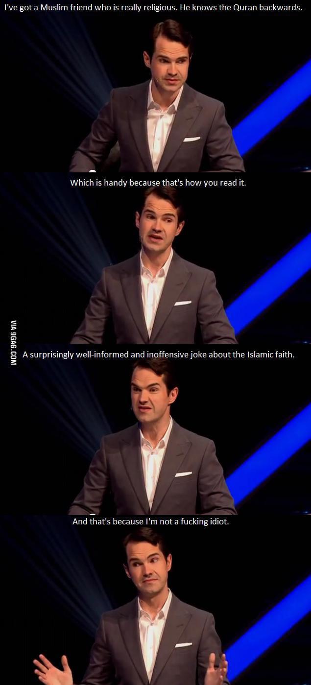 Jimmy's Muslim friend.