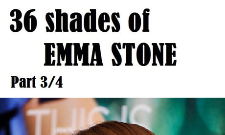 36 shades of Emma Stone, Part 3/4. Find the previous parts on my profile (@tanfoi61)
